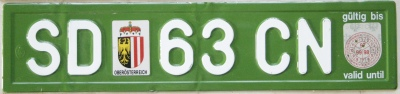 plaques d 39 immatriculation d 39 europe license plates from europe. Black Bedroom Furniture Sets. Home Design Ideas